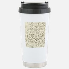 Natural Leaves Stainless Steel Travel Mug