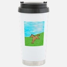 LilBrown-allover-front Travel Mug