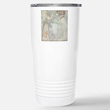 Alice in Wonderland Cat Stainless Steel Travel Mug