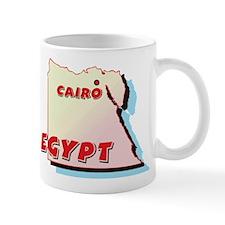 Egypt Map Mug