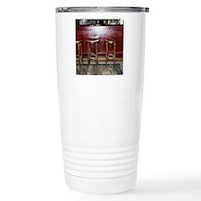 Bar Stools in Pub Travel Mug