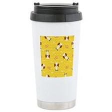Dogs on skateboards Travel Mug