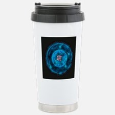 Illustration of atom wi Stainless Steel Travel Mug