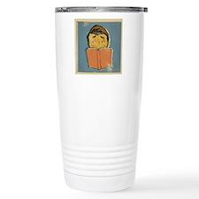 Illustration of a man r Travel Coffee Mug