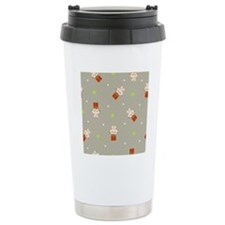 Rabbits on top of prese Travel Coffee Mug