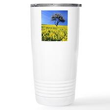 tree in field Travel Mug