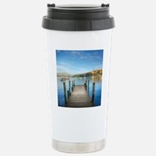 HDR Jetty, New Zealand, Stainless Steel Travel Mug