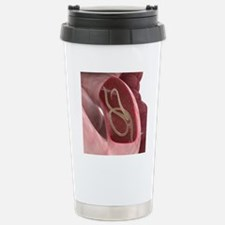 Intestine worm Stainless Steel Travel Mug