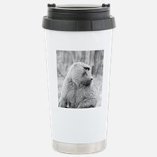 African baboon Travel Mug