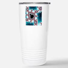 Mandelbrot fractal. Com Stainless Steel Travel Mug