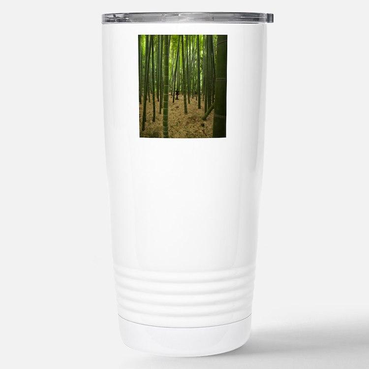 Ancient bamboo grove wi Travel Mug