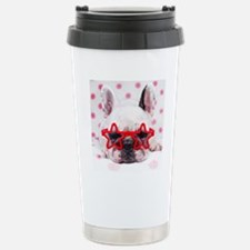 Bulldog with star glass Travel Mug