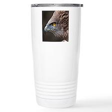 Close up of eagle. Travel Coffee Mug