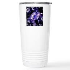 Close up of purple flow Travel Mug