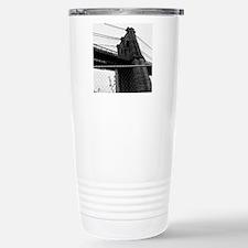 Bridge In Manhattan, Ne Travel Mug