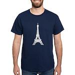 Eiffel Tower Dark T-Shirt