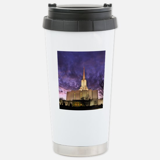 Jordan River Utah LDS ( Stainless Steel Travel Mug