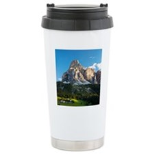 Peak in Dolomites calle Travel Mug