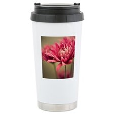Pink mum flowers. Travel Mug