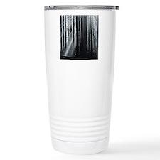 Sunlight in forest Travel Mug