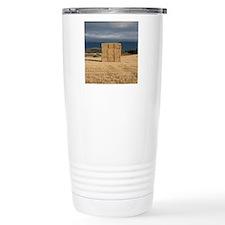 Square haystack during  Travel Mug
