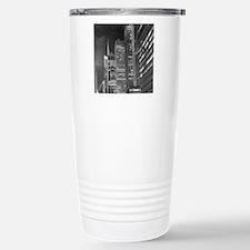 Skyscrapers at night, N Travel Mug