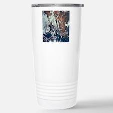 Weather Patterns over E Travel Mug