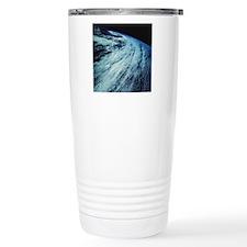 Storm Patterns on Earth Travel Coffee Mug