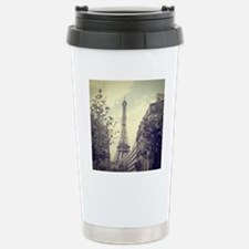 The Eiffel tower surrou Travel Mug