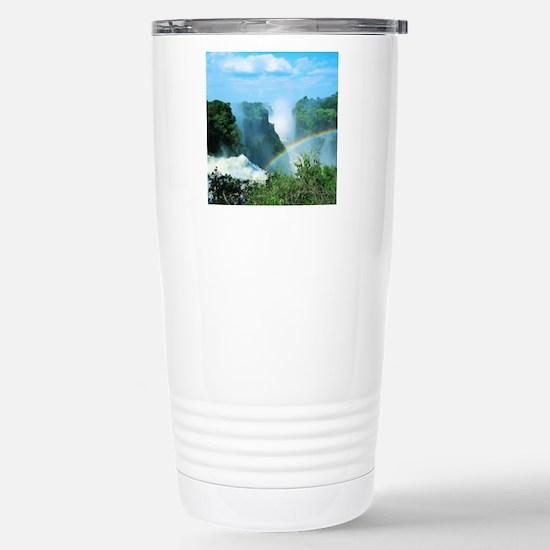 Victoria Falls, Zimbabw Stainless Steel Travel Mug
