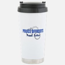 Mom of police officer Travel Mug