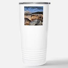 La Jolla Seals Stainless Steel Travel Mug