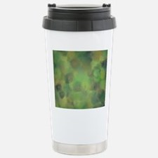 Subdued green and yello Stainless Steel Travel Mug
