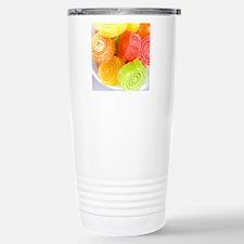 Colorful fruit sugary c Travel Mug
