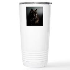 Little Black Cat Travel Mug