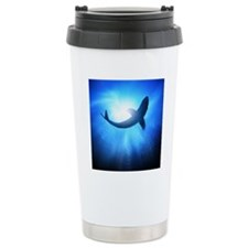 Deep under the ocean, l Travel Mug