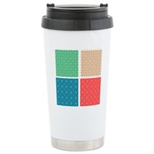 Seamless abstract patte Travel Mug