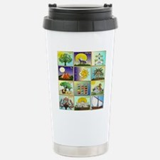 12 Tribes Of Israel Stainless Steel Travel Mug