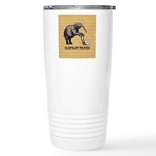 Vintage circus elephant Travel Mug