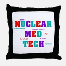 Cute Nuclear med student Throw Pillow