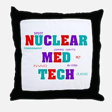 Unique Tech Throw Pillow