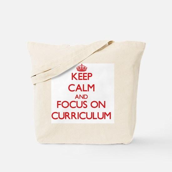 Unique Curriculum Tote Bag