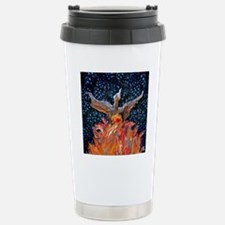 Phoenix Rising Square L Travel Mug