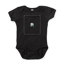 Broken Internet Image Icon Baby Bodysuit