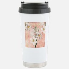 Lilies Stainless Steel Travel Mug