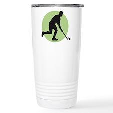 field hockey player Travel Mug