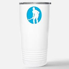 field hockey player Stainless Steel Travel Mug