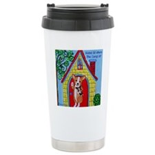 Home is Where The Corgi Travel Mug