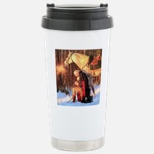 Mt. Vernon Painting of  Travel Mug
