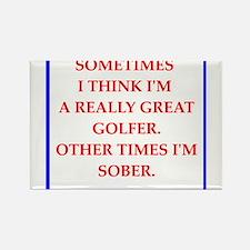 golfer Magnets